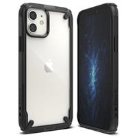 Ringke Fusion X iPhone 12 Mini Hybrid Case - Zwart