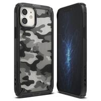 Ringke Fusion X Design iPhone 12 Mini Hybrid Case - Camouflage / Zwart