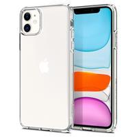 Spigen Liquid Crystal iPhone 11 TPU Cover - Doorzichtig