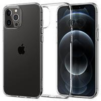 Spigen Liquid Crystal iPhone 12/12 Pro TPU Case - Doorzichtig