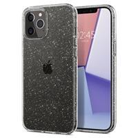 Spigen Liquid Crystal Glitter iPhone 12 Pro Max Hoesje - Transparant