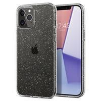 Spigen Liquid Crystal Glitter iPhone 12/12 Pro Hoesje - Transparant