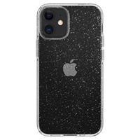 Spigen Liquid Crystal Glitter iPhone 12 Mini Hoesje - Transparant