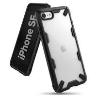 Ringke Fusion X iPhone 7/8/SE (2020) Hybrid Case - Zwart