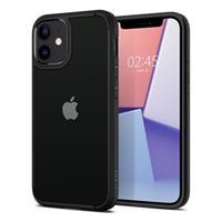 Spigen Ultra Hybrid iPhone 12 Pro Max Cover - Zwart