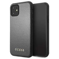 Guess Iridescent Collection iPhone 11 Cover - Zwart