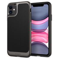 Spigen Neo Hybrid iPhone 11 Cover - Pistoolmetaal