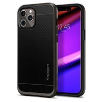 Spigen Neo Hybrid iPhone 12 Pro Max Cover - Pistoolmetaal
