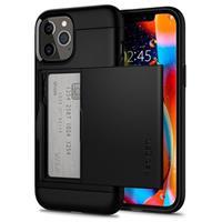 Spigen Slim Armor CS iPhone 12/12 Pro Cover - Zwart
