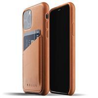 Mujjo Full Leder iPhone 11 Pro Wallet Cover - Bruin