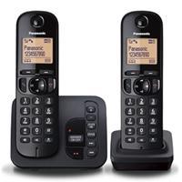 Panasonic dect KX-TGC222BLB Draadloze telefoon zwart
