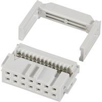 71600-016LF Pinconnector Met trekonlasting Rastermaat: 2.54 mm Totaal aantal polen: 16 Aantal rijen: 2 1 stuk(s)