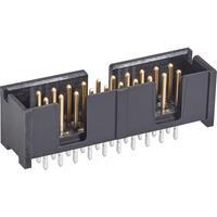 TE Connectivity 5103308-8 Male connector Rastermaat: 2.54 mm Totaal aantal polen: 40 Aantal rijen: 2 1 stuk(s)