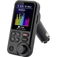 caliberaudiotechnology Caliber Audio Technology PMT566BT FM-transmitter Incl. handsfree-functie, Met geheugenkaartgleuf