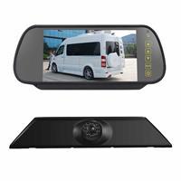 PZ474 Auto Waterdicht 170 Graden Remlicht View Camera + 7 inch Achteruitkijk Monitor voor Iveco Daily 4 Gen