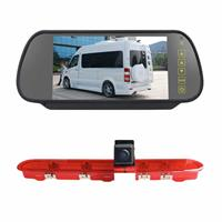 PZ471 Auto Waterdicht 170 Graden Remlicht View Camera + 7 inch Achteruitkijk Monitor voor Citroen / Peugeot / Toyota
