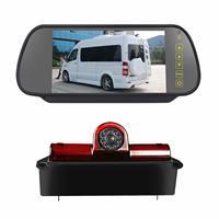 PZ467 Auto Waterdicht 170 Graden Remlicht View Camera + 7 inch Achteruitkijk Monitor voor Chevrolet