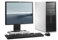 HP Compaq DC7900 Tower - Core2Duo - 4GB - 250GB HDD + 22'' WideScreen LCD