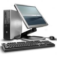 hp Compaq DC7900 SFF - Core2Duo - 4GB - 250GB HDD + 24'' Widescreen LCD