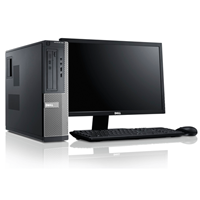 dell Optiplex 790 SFF - Core i5 - 4GB - 250GB HDD + 24'' Widescreen LCD