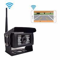 F0503 684 x 512 Effectieve Pixel HD Waterdicht 28 LED IR Nachtzicht 120 graden Groothoek Auto / Truck Achteruitrijcamera Backup Achteruitrijcamera