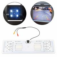 JX-9488 720x540 Effectieve pixel NTSC 60HZ CMOS II Universele waterdichte auto achteruitrijcamera achteruitrijcamera met 2W 80LM 5000K wit licht 4LED lamp, DC 12V, draadlengte: 4m (wit)