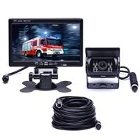 F0505 7 inch HD auto 18 IR LED's achteruitrijcamera achteruitkijkspiegel monitor, met 10m kabel