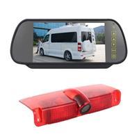 PZ478 Auto Waterdicht 170 Graden Remlicht View Camera + 7 inch Achteruitkijkspiegel Monitor voor Chevrolet Express Van / CMC Savana van