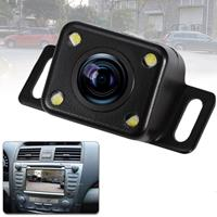 316 4 LED Security Backup Parking Waterdichte achteruitrijcamera, ondersteuning nachtzicht, brede kijkhoek: 120 graden (zwart)