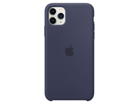 Apple iPhone 11 Pro Max Siliconen Case - Donkerblauw A-grade