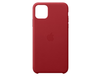 Apple iPhone 11 Pro Max Leather Case - Rood A-grade