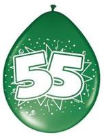 Non-License Ballonnen 55 Jaar 8st.