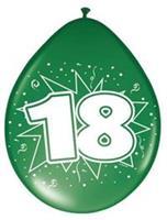 Non-License Ballonnen 18 Jaar 8st.