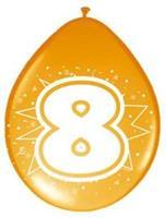 Non-License Ballonnen 8 jaar 8st.