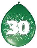 Non-License Ballonnen 30 Jaar 8st.