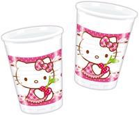 Hello Kitty Bekers 8st.