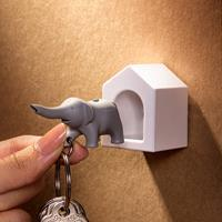 Qualy Elephant Key - Grey