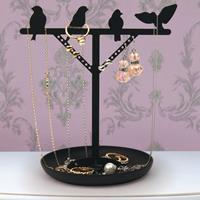 Kikkerland Bird Jewelry Stand