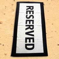 Iggi Reserved Beach Towel