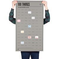 doiy Bucket List Poster - 100 Things You Must Do Before You Die