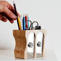Suck UK Stifteköcher Sharpener Desk Tidy Twin