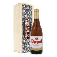 YourSurprise Bier in bedrukte kist - Duvel