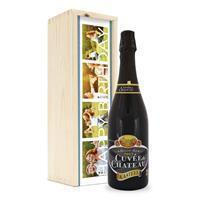 YourSurprise Bier in bedrukte kist - Kasteel Cuvée du Chateau