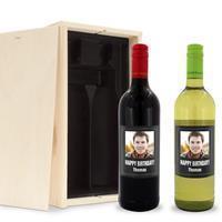 YourSurprise Wijnpakket met etiket - Oude Kaap - Wit en rood