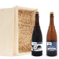 YourSurprise Vaderdag bierpakket in kist - Westmalle
