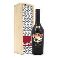 Likeur in bedrukte kist - Baileys Original
