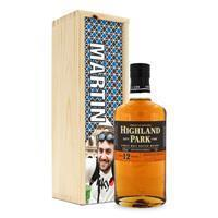 YourSurprise Whisky in bedrukte kist - Highland Park 12 Years