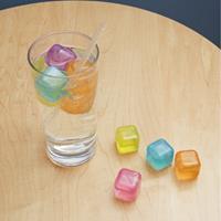Kikkerland Plastic ijsblokjes (set van 30) - Kleur