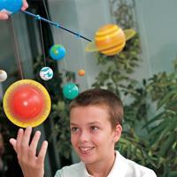 4M KidzLabs Modelbouw Kit - Bouw je eigen zonnestelsel (glow in...