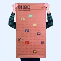 doiy Poster 100 dishes you must eat before you die
